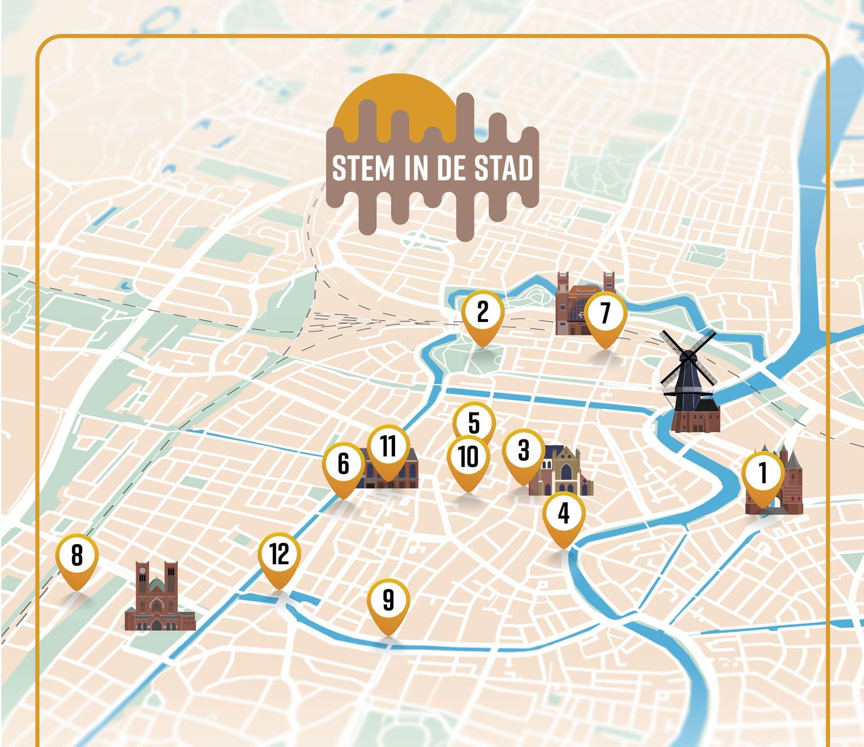 Audiotour van Stem in Stad